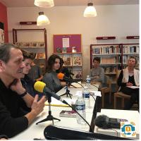 Jean-Marie Laclavetine un éditeur, romancier en visite à SMGL