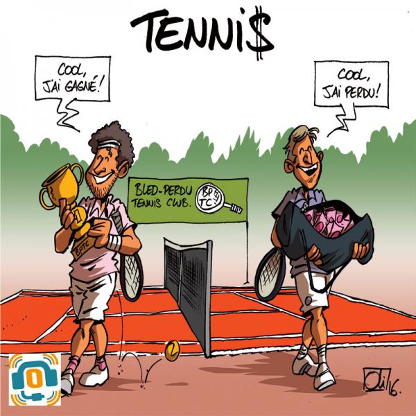 La présence de l'argent dans le sport